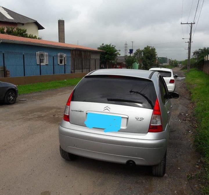 Veículo recuperado em Sapucaia